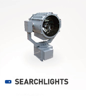 STABILIZING XENON LAMP TYPE SEARCHLIGHT