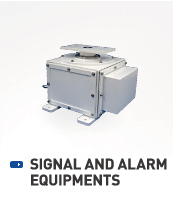 SIGNAL AND ALARM EQUIPMENTS